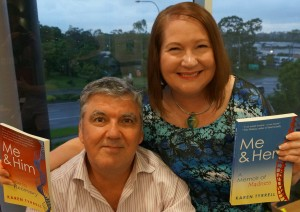 Karen Tyrrell book launch.Me & Him