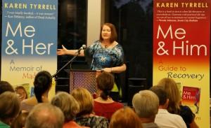 Karen Tyrrell book launch