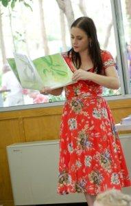 Micelle Worthington reading 2