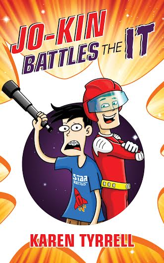 jokin battles the IT cover