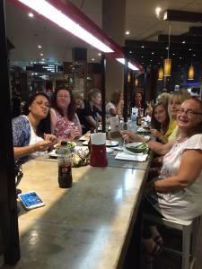 team dinner grilled 2015