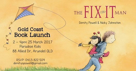 the fix it man book launch
