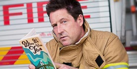 robert newton book reading firefighter