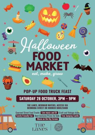 Halloween market book reading 28Oct17
