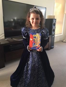 Jeanene's granddaughter Fan-tas-tic-al reader