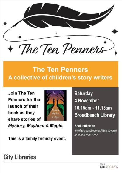 ten penners book launch pic
