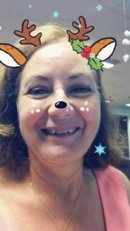 Jill Christmas reindeer 2017