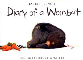 diary of a wombat cover jackie french illus bruce whatley