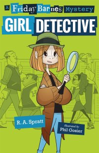 Friday Barnes alternate cover Girl Detective