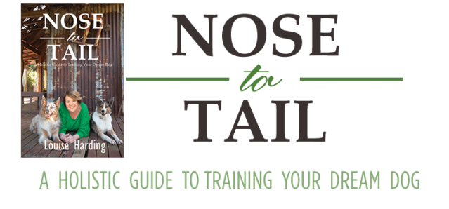 nosetotail-dog-training-book cover