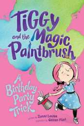 Tiggy magic paintbrush Birthday party trick cover