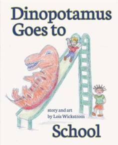 Dinopotamus goes to school cover