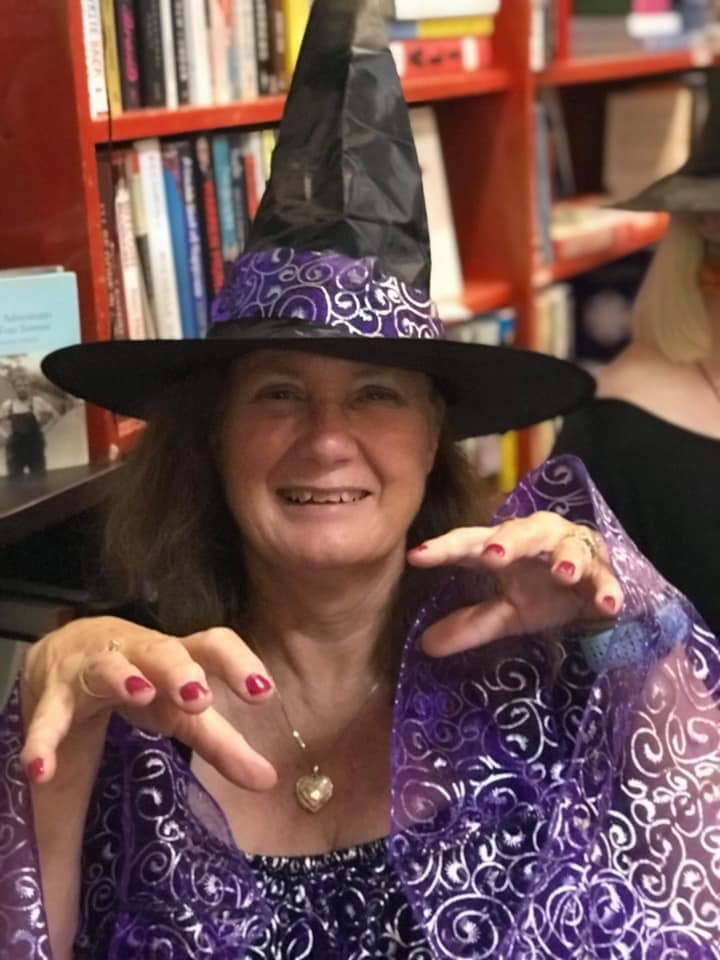 spooktacular book launch good witch jill casting spell