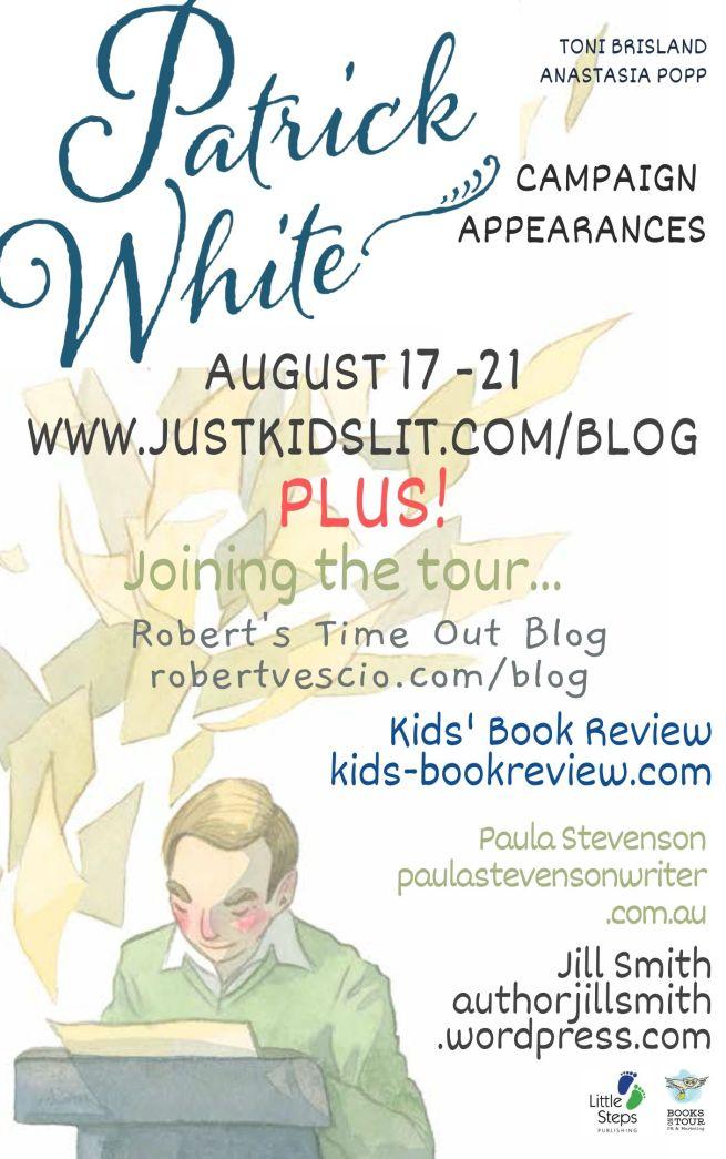 Patrick White Campaign Schedule Aug20